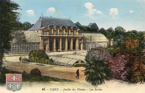 Caen ville fleurie du calvados au concours villes et villages fleuris de normandie - Le jardin des plantes caen ...