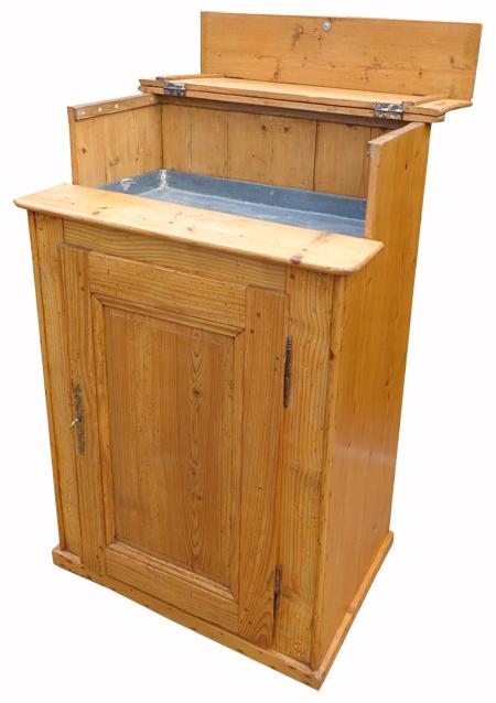 Table de rempotage meuble ancien pour rempoter plantes d - Meuble plantes d interieur ...